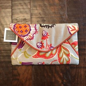 NWT! 1154 Lill Studio envelope clutch purse